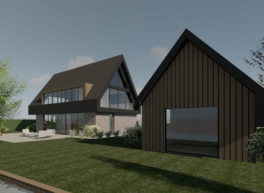 Groningen: nieuwbouwwoning in Meeroevers in Meerstad